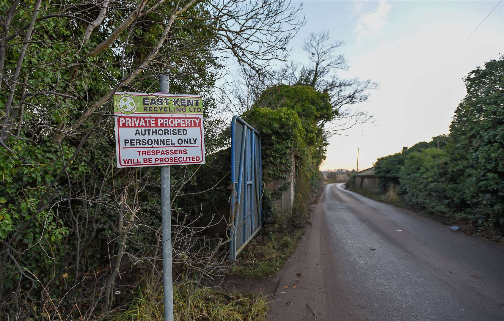 There have been objections to the expansion of recycling plant near Oare, Faversham Picture: Alan Langley