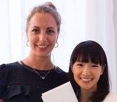 Jenny Hayes (left) is an expert in the KonMari Tidying Method and will also be on hand to speak to attendees.