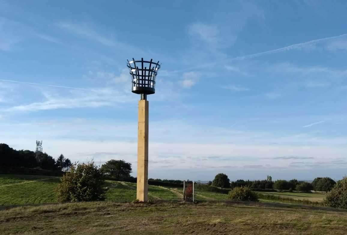 A specialist beacon has been commissioned for the village of Newington