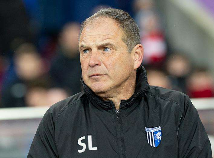 Gillingham manager Steve Lovell at Sunderland Picture: Ady Kerry (7296203)
