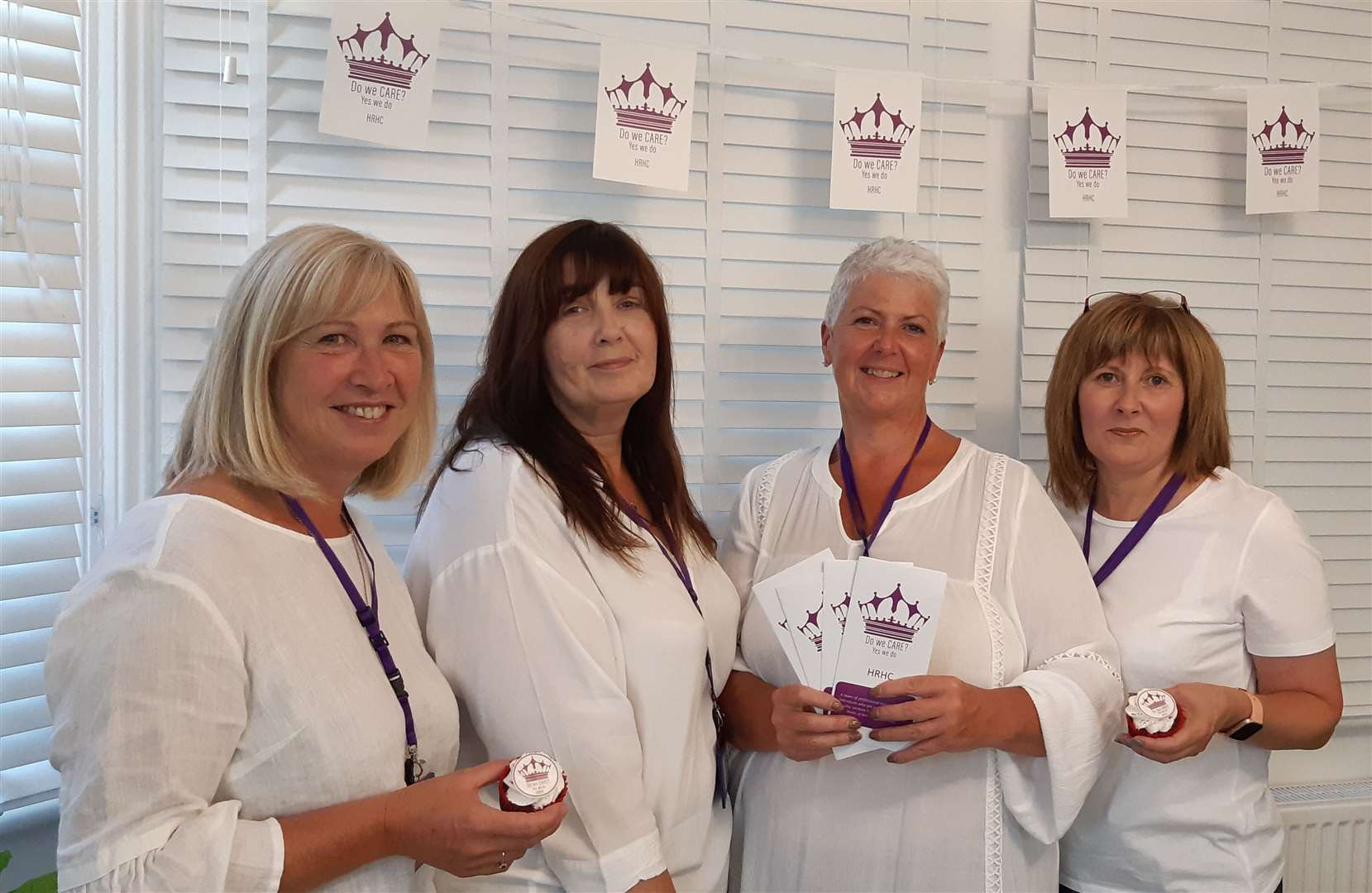 Debbie Cowens, Amanda Hood, Donna Ryan and Mary Hollis have launched a new care business in Deal and Dover