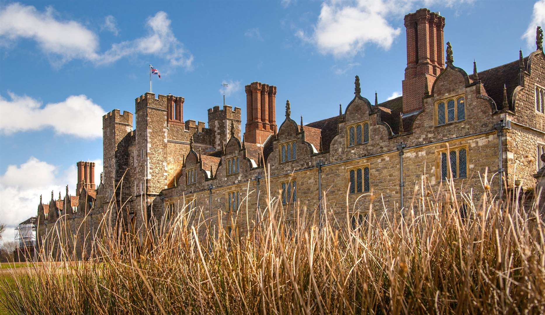 Knole was the childhood home of Vita Sackville-West who went on to live at Sissinghurst Castle
