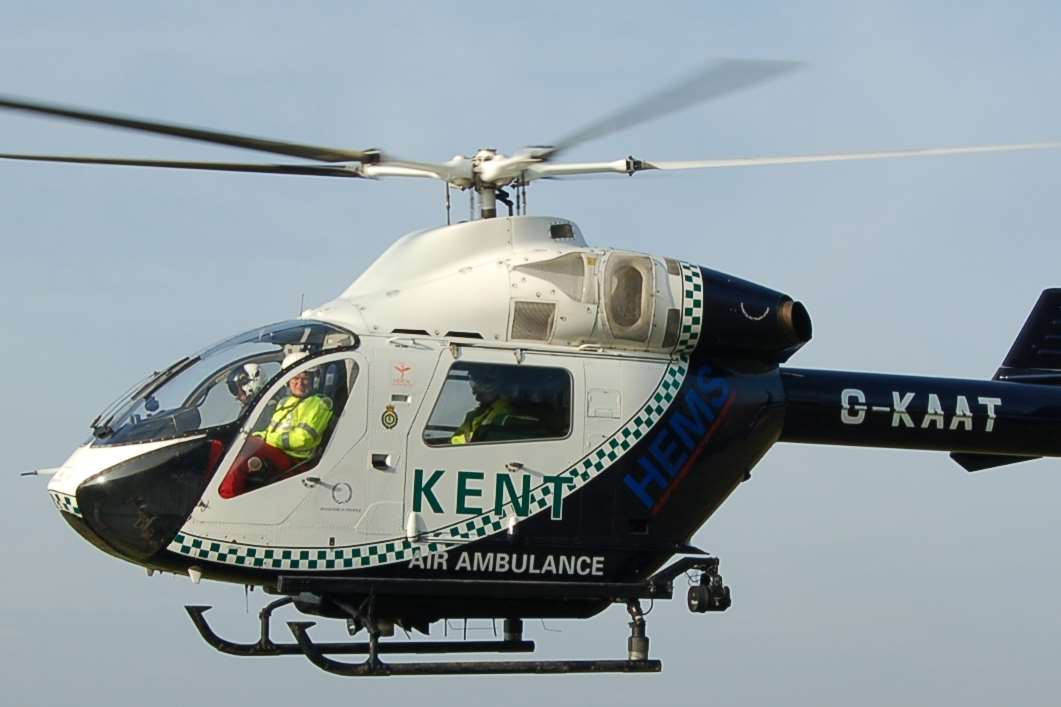 Man Airlifted To Hospital After Incident In Woodnesborough