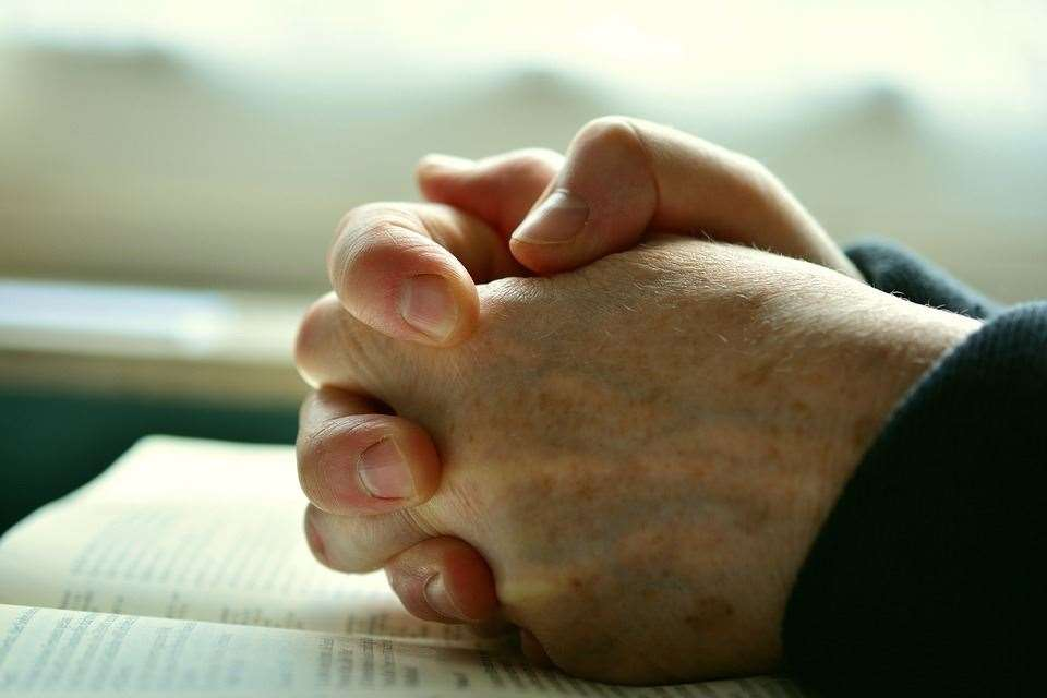 Prayer can be a comfort
