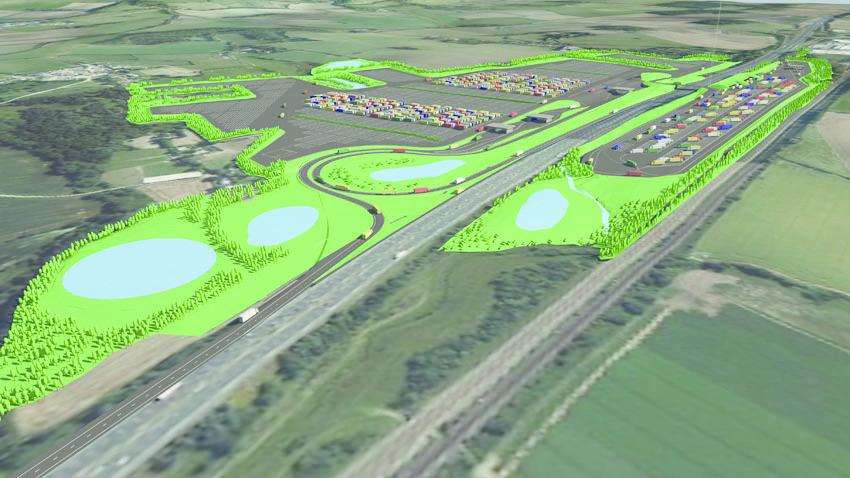 Highways England proposals for a giant lorry park in Stanford, near Folkestone, were shelved by the government last year