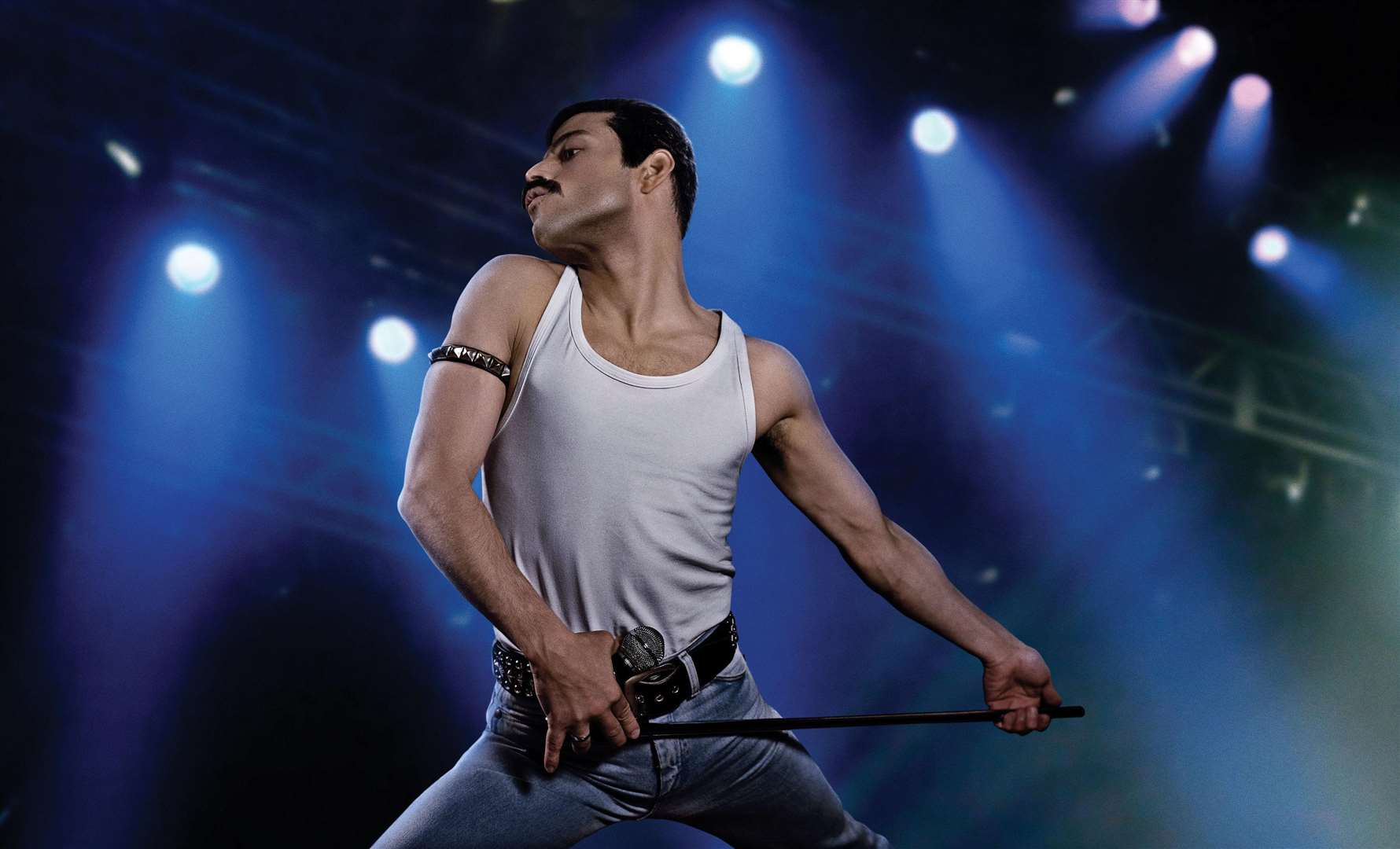Rami Malek as Freddie Mercury Picture: PA Photo/Twentieth Century Fox Film Corporation/Alex Bailey