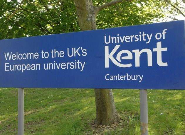 "The University of Kent is facing ""multiple external challenges"""
