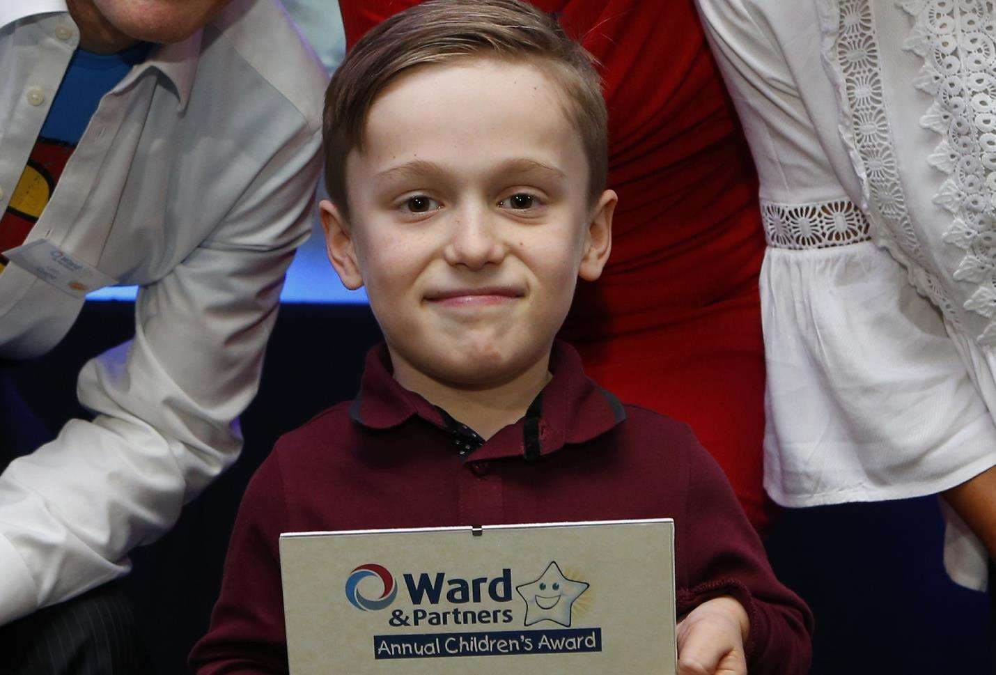 Ward and Partners Annual Children's Awards. Triumph Over Adversity for children aged 6-16 years old. Pictured is Harrison Guinan. Picture: Andy Jones