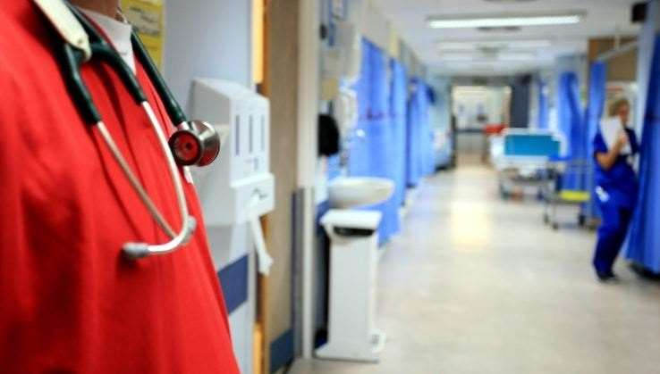 Will hospital staff be able to cope with bigger surge of patients this winter? Stock image