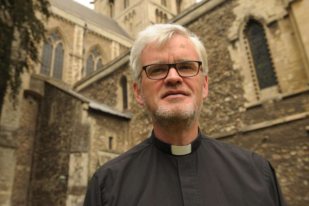 The Dean of Rochester Cathedral The Very Rev Dr Mark Beach has stepped aside. Picture: Steve Crispe