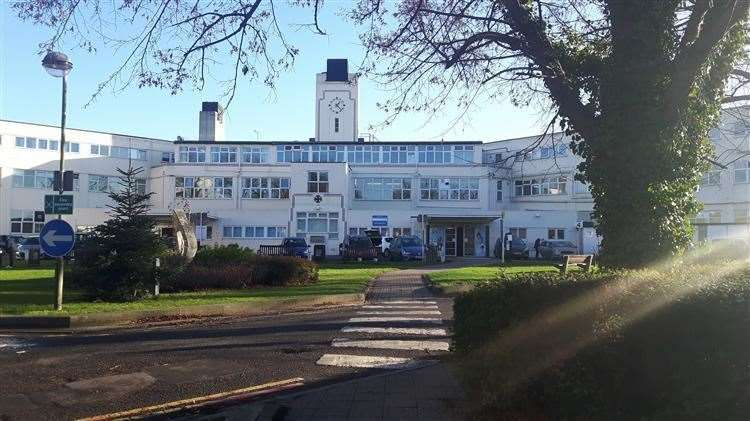 The Kent and Canterbury Hospital is run by the trust