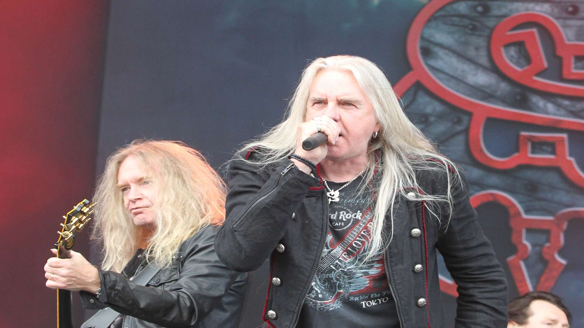 Saxon are back for this year's festival Picture: John Westhrop