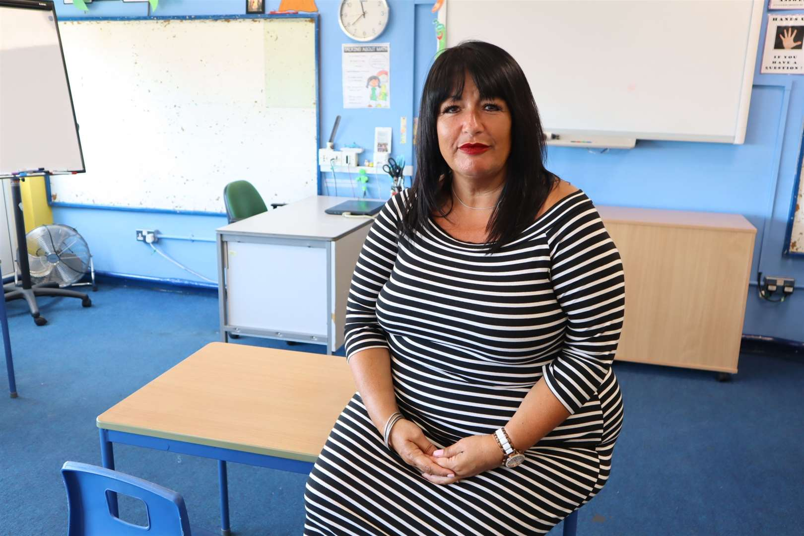 Debbie Wheeler, chief executive officer of the Island Learning Trust which runs Minster Primary School