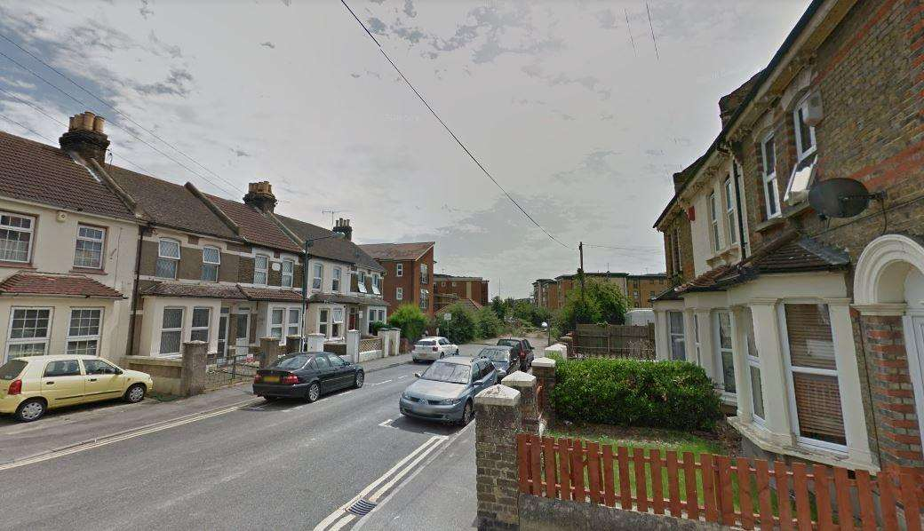 Gerald Edwards was stabbed in Vicarage Road, Strood. Picture: Google Street View