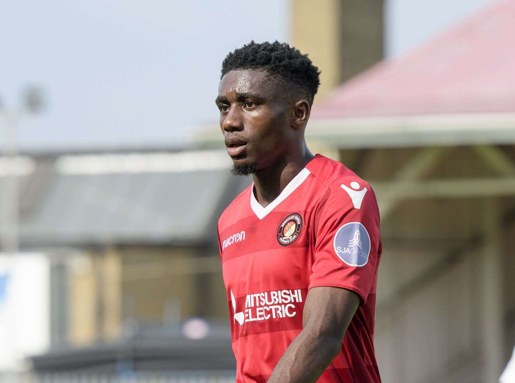 Darren McQueen worked with Daryl McMahon at Ebbsfleet Picture: Andy Payton