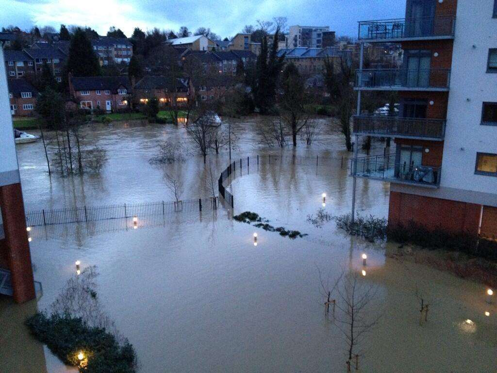 Maidstone town centre last year