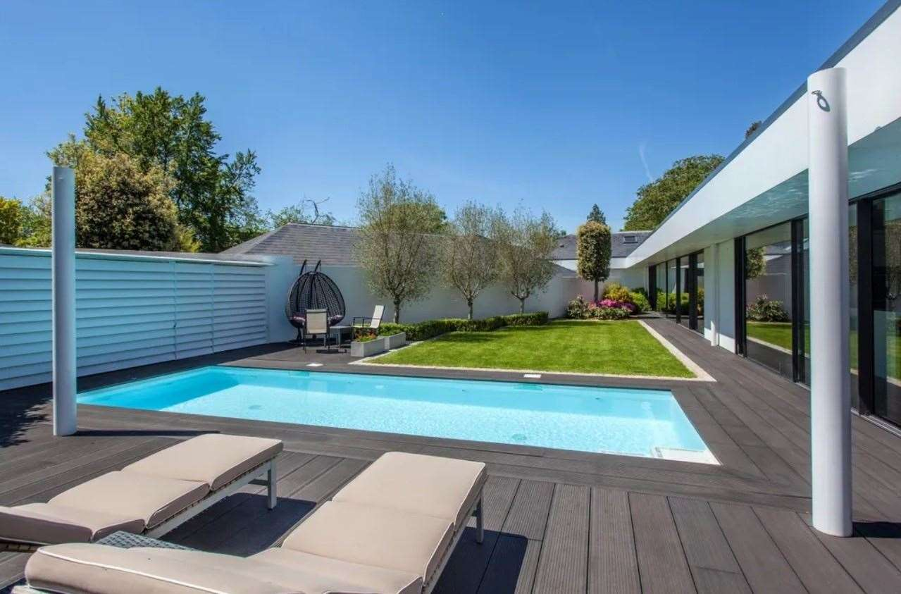 The four-bed bungalow in Calverley Park Gardens. Picture: Zoopla / Knight Frank