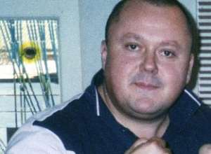 Murderer Levi Bellfield flexing his muscles in around 2004