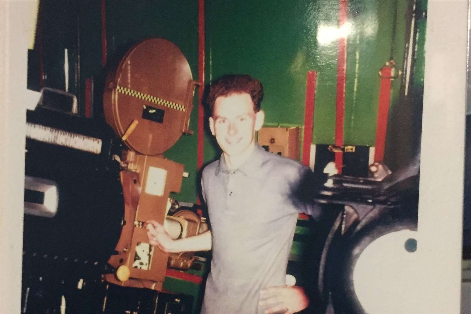 Barry as a young producer