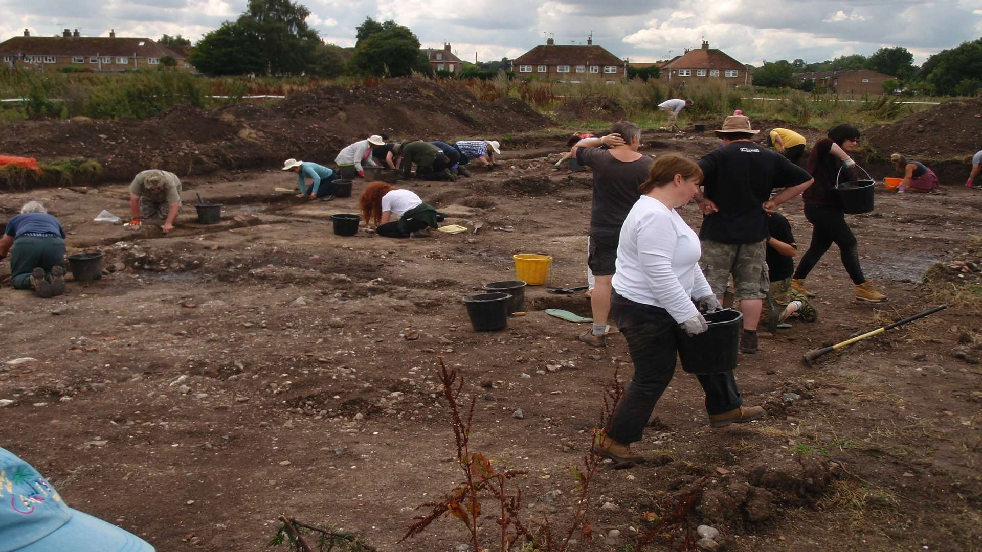 The archaeological dig has been fronted by Dr Paul Wilkinson.