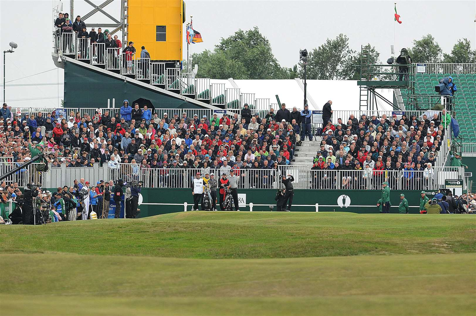 More than 181,000 people are expected to flock to Sandwich to enjoy The Open championship Picture: Barry Goodwin