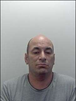 Cristian-Dan Balasoui ahs been jailed for seven years six months for smuggling £1m of cocaine into Dover. Picture NCA