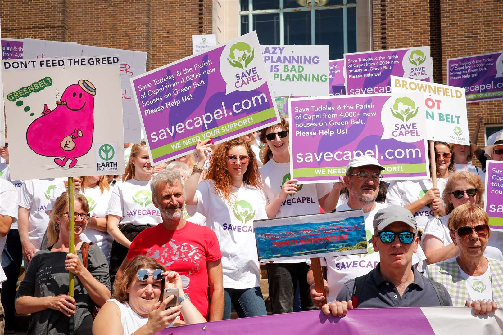 Save Capel Campaigners take to the streets