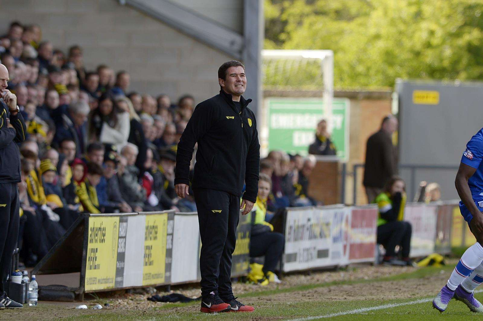 Burton manager Nigel Clough Picture: Barry Goodwin