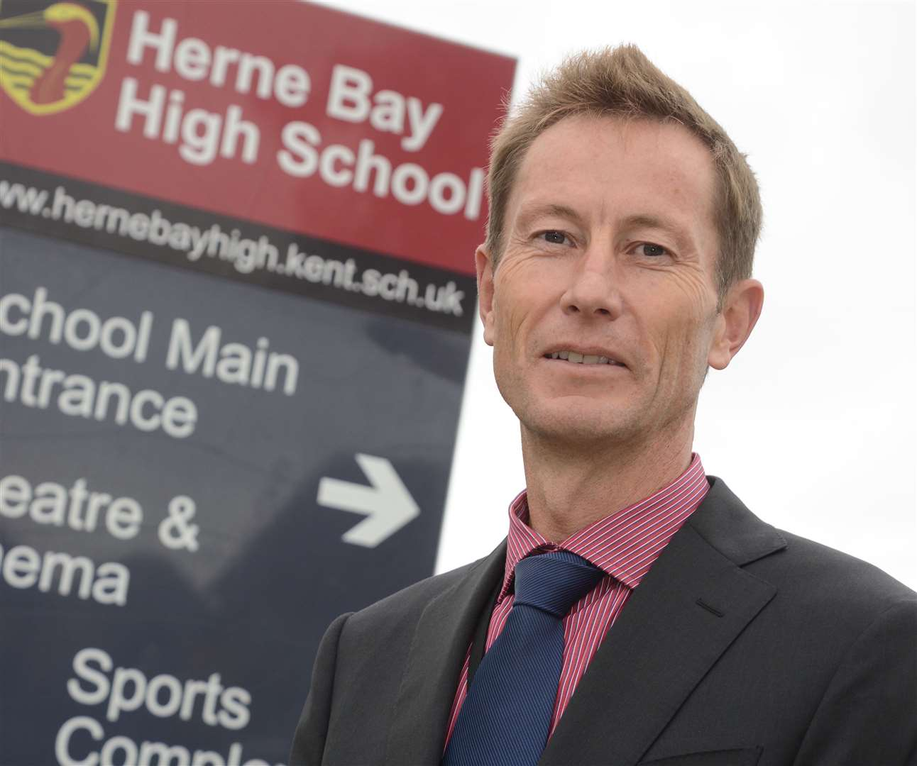 Herne Bay High principal Jon Boyes says as many as 85 pupils are currently missing classes