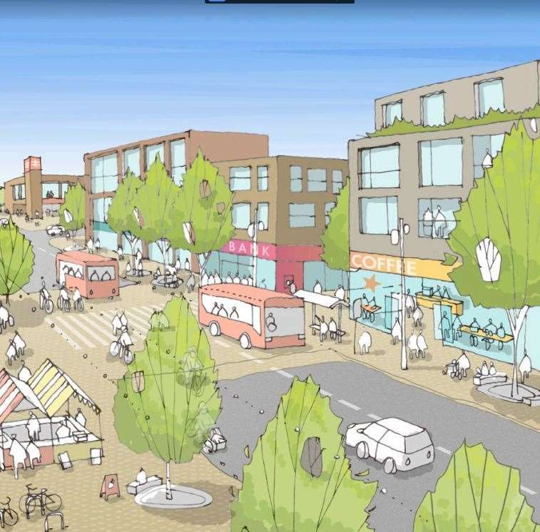 How Maidstone council envisages its new community