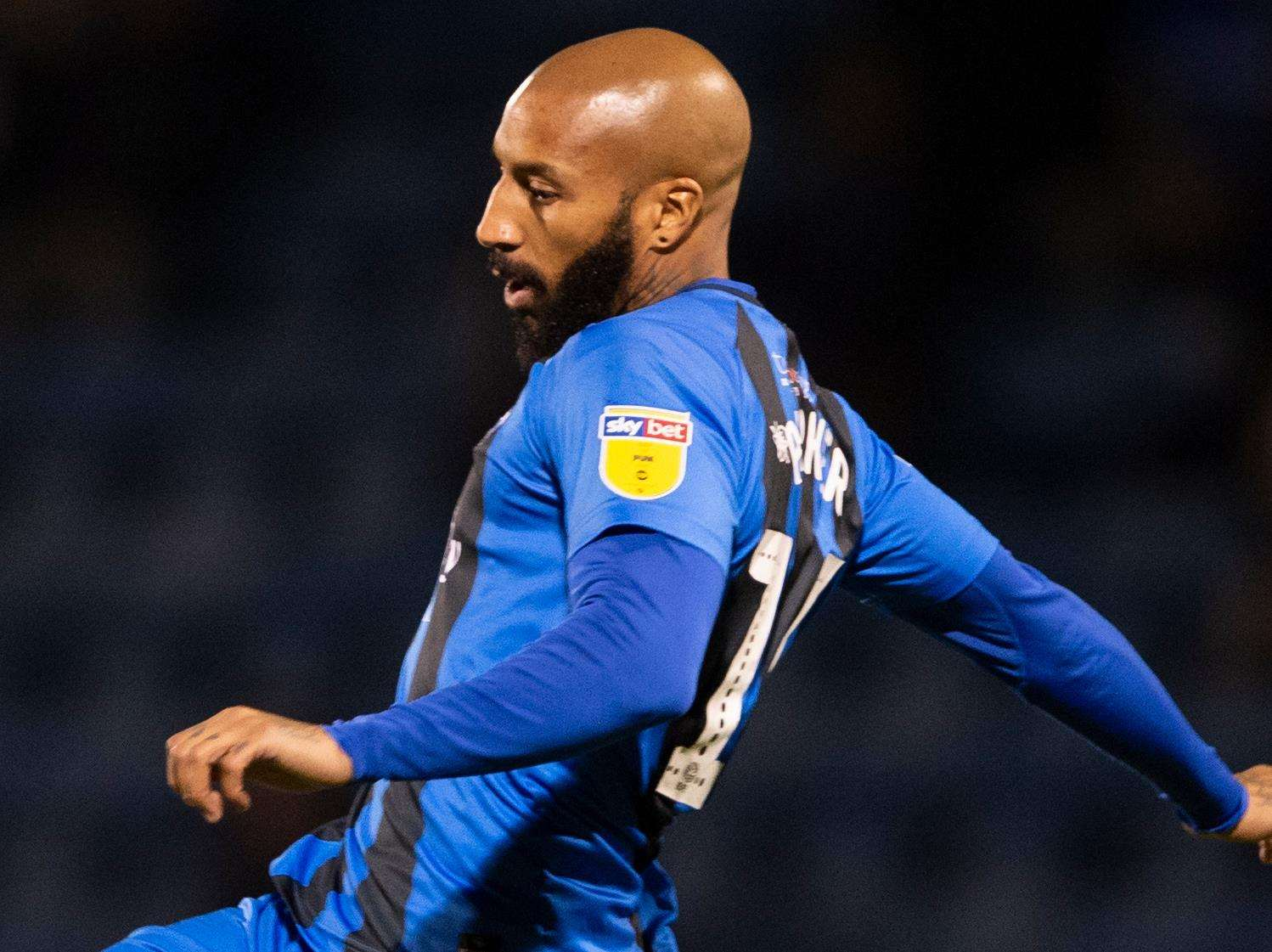 Josh Parker made a late cameo against Blackpool on Tuesday Picture: Ady Kerry