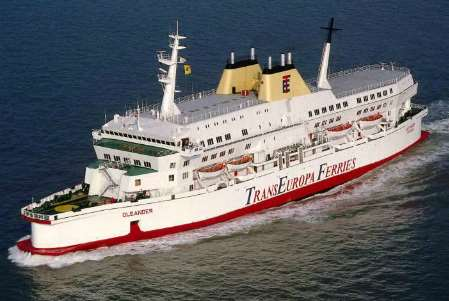 TransEuropa Ferries file picture