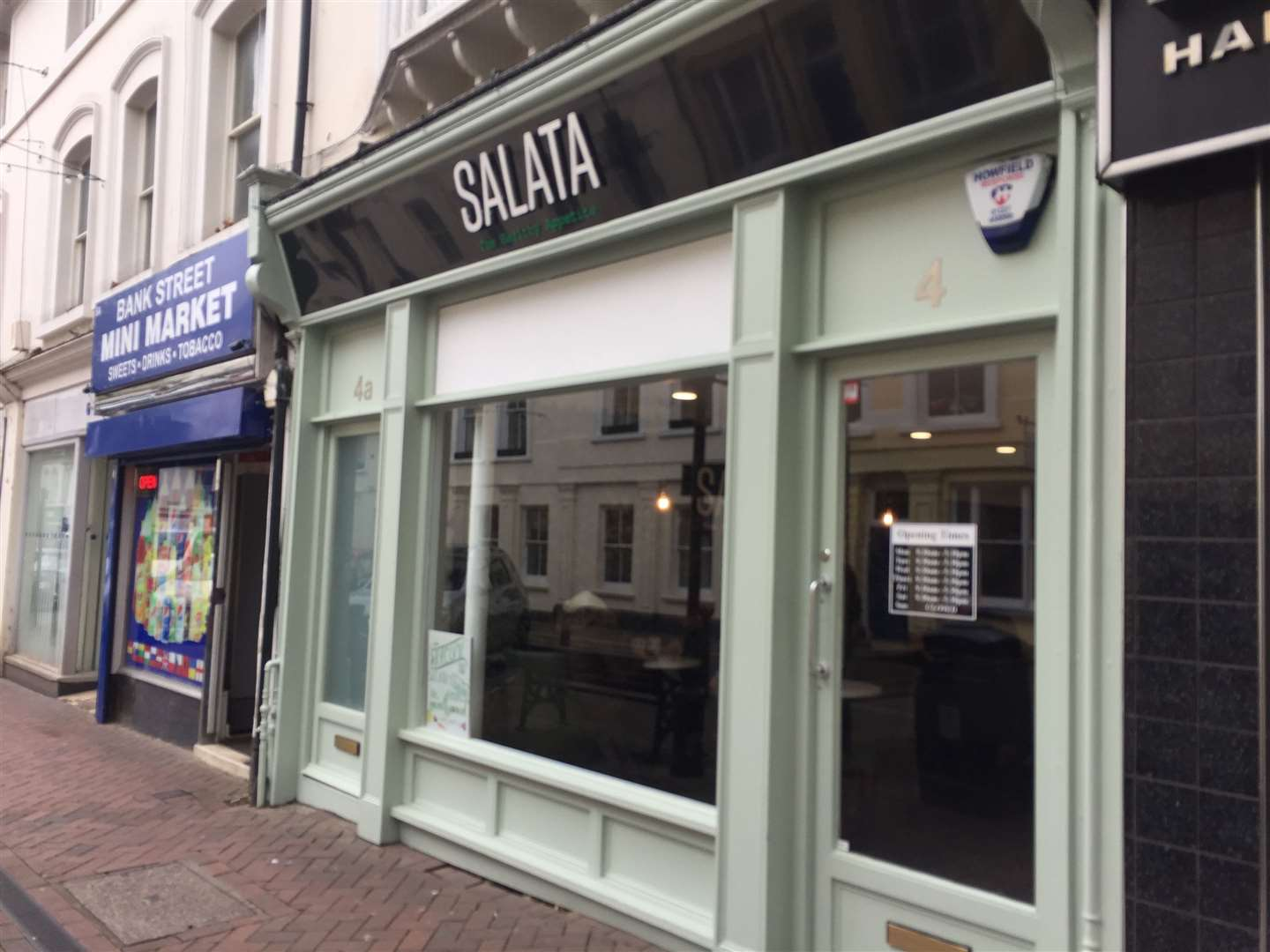 Salata has opened in Ashford's Bank Street today (9588404)
