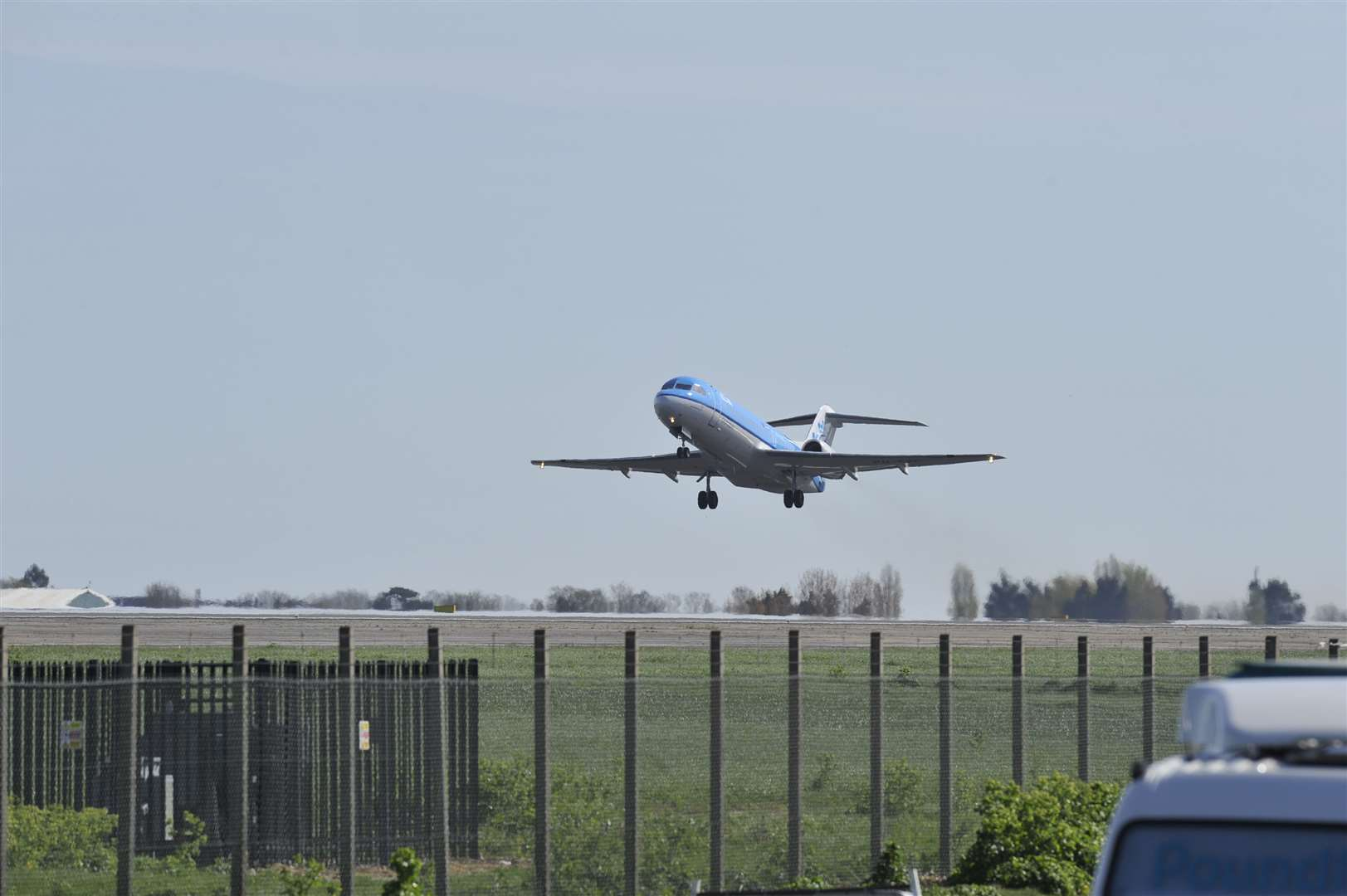 The last flight took off from Manston in April 2014
