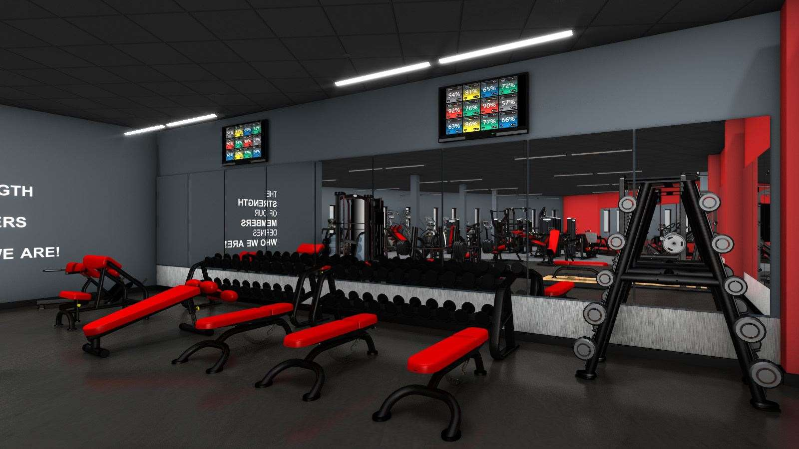 What the new gym will look like