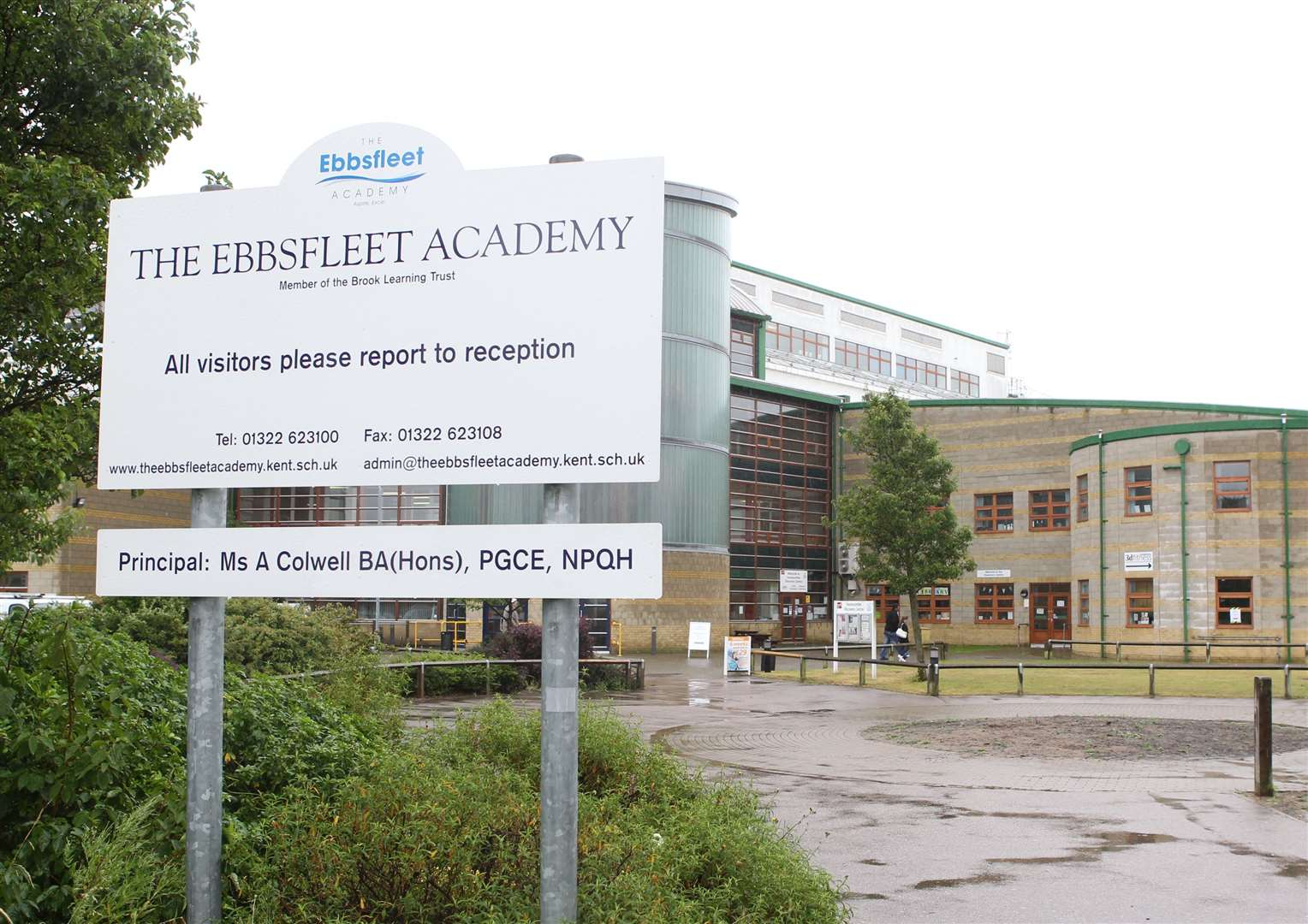 "The Ebbsfleet Academy in Swanscombe is subject to a new ""super merger"". Picture byJohn Westhrop"