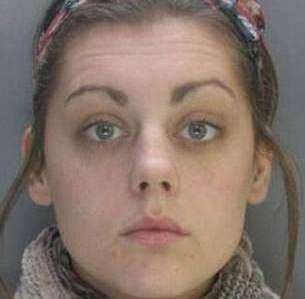 Rachael Brookers: girlfriend of jailed hacker Grant West who operated out of a caravan on the Isle of Sheppey. Picture: Metropolitan Police (2223477)