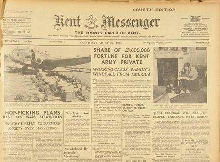 Kent S 150 Year Old Newspapers Will Be Archived Online