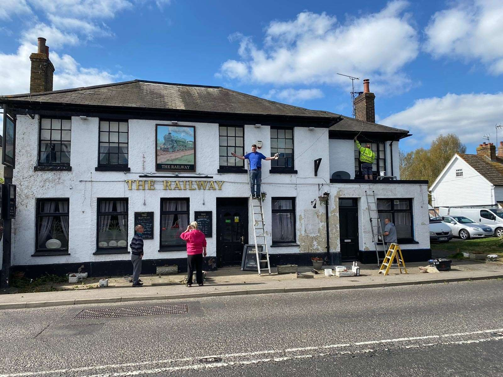 The Railway pub before its makeover Picture: Suzie Goad