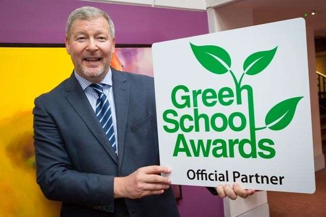Simon Dolby, communications manager for Green School Awards judging organisation Streetspace (22571522)