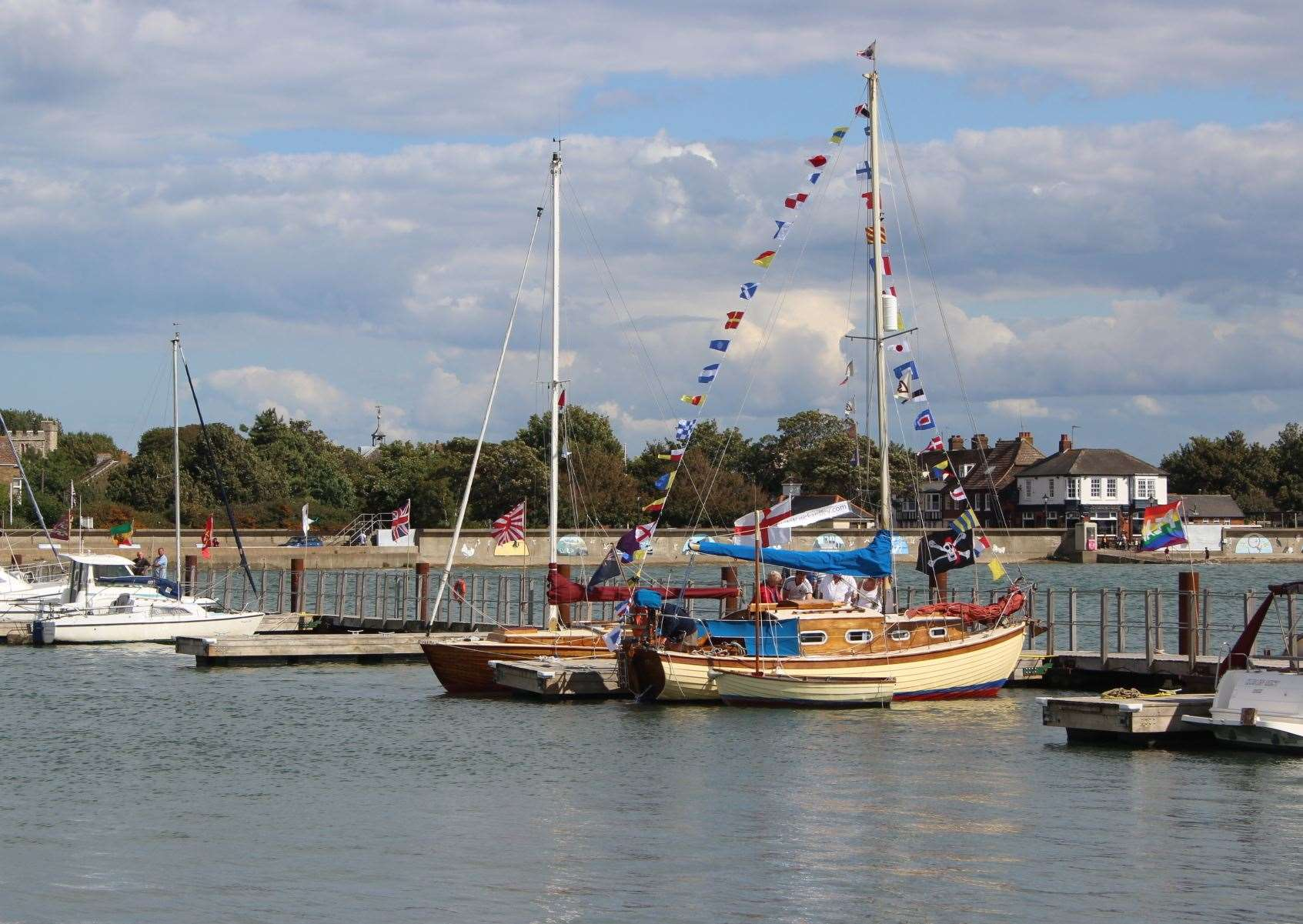 Classic Boat day at Queenborough