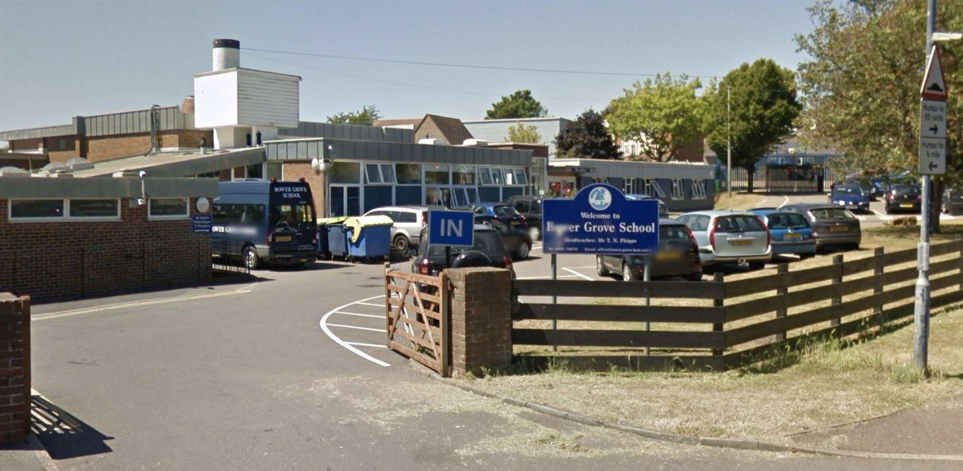 Bower Grove School in Fant Lane, Maidstone. Picture: Google Street View