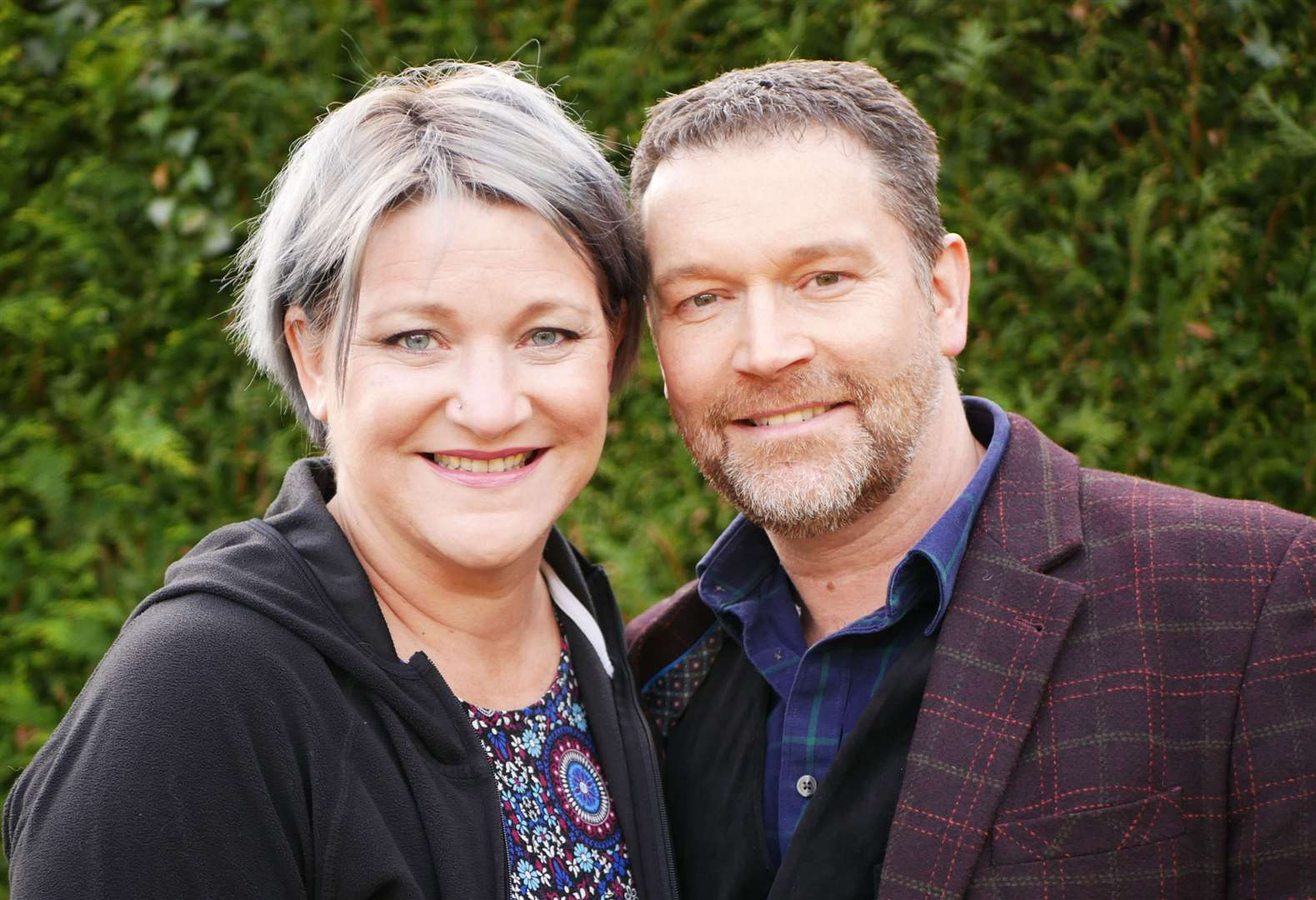 Foster parents Naomi Dobbs and Andrew Keeping, from Sutton Valence