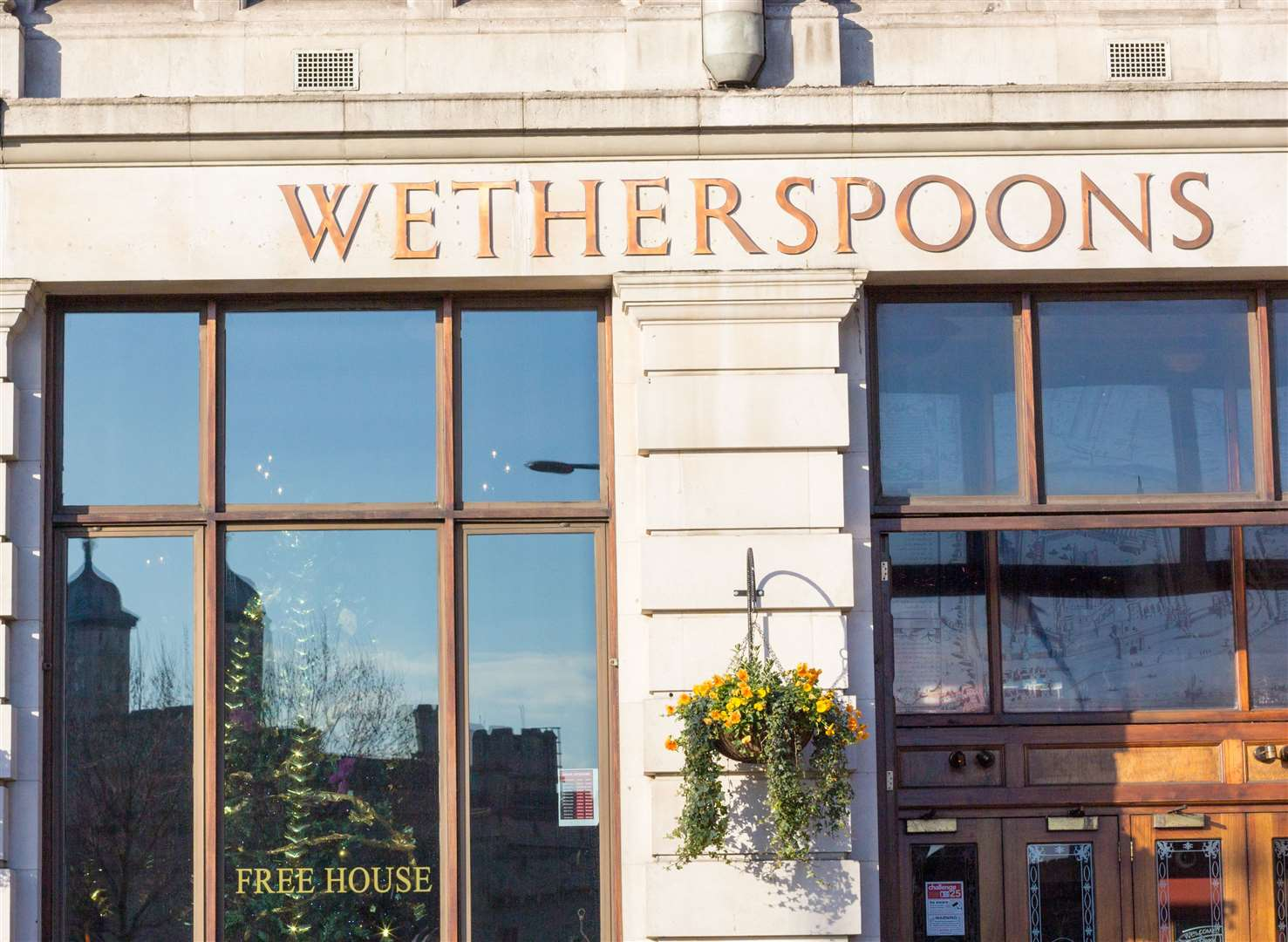 There are more than 800 Wetherspoons throughout the UK