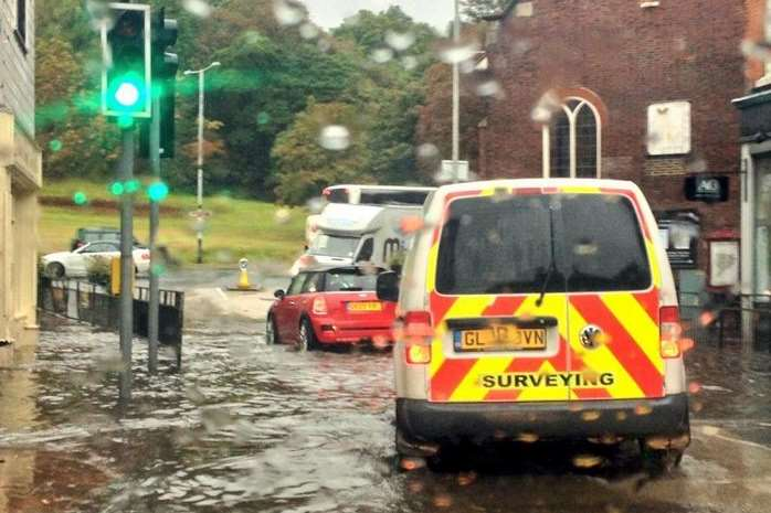 Drivers are being warned to expect flooding. Stock picture