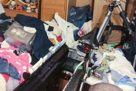 The chaotic flat where baby Tony spent the first harrowing weeks of his life