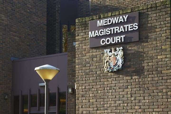 Pritchard is due to appear via video-link at Medway Magistrates' Court. Stock picture
