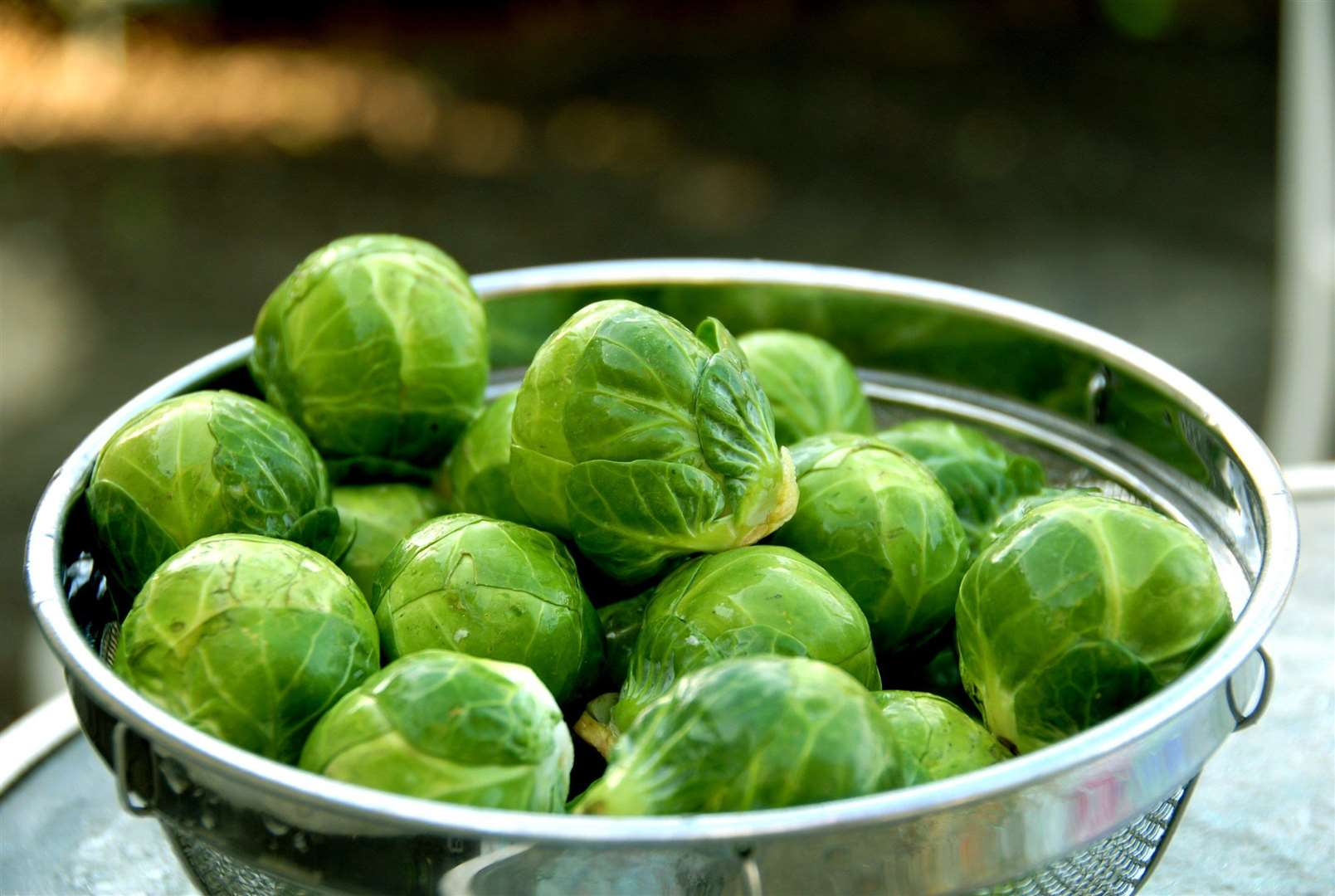 The current world record is 31 sprouts in one-minute