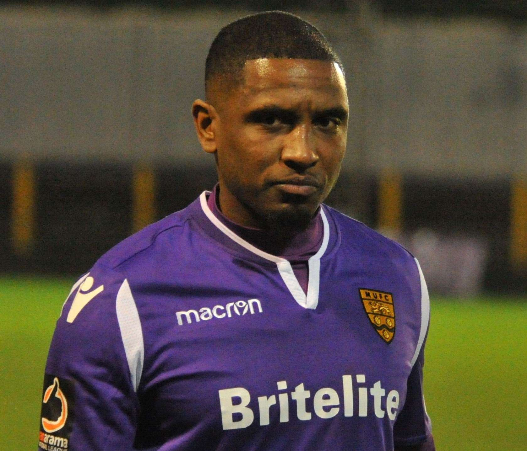 Andre Boucaud has joined Maidstone from Barnet Picture: Steve Terrell