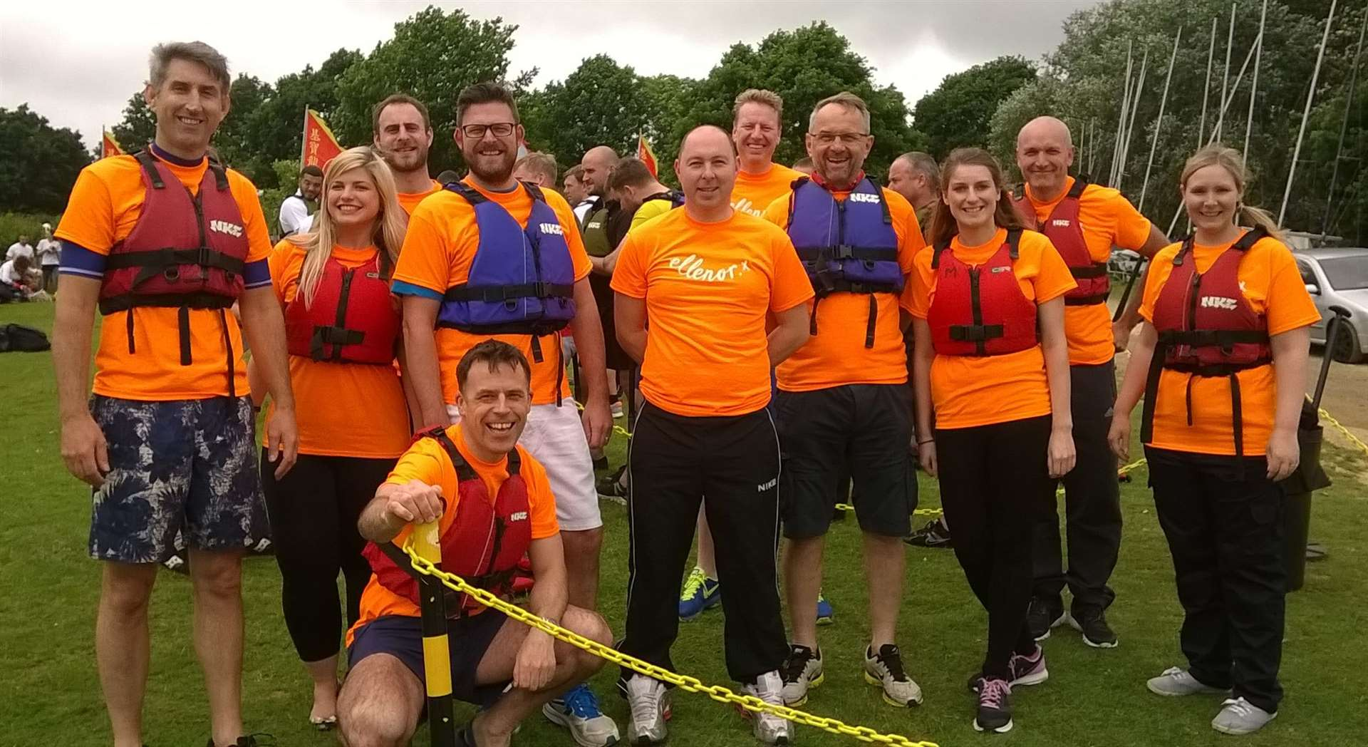 The Berkeley team took part in a Tough Mudder challenge to raise funds for the hospice prior to the lockdown